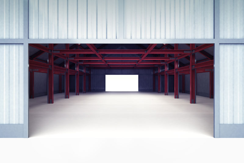 Funkcjonalny magazyn – podstawy budownictwa stalowego